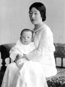 Empress_Kojun_and_Prince_Akihito