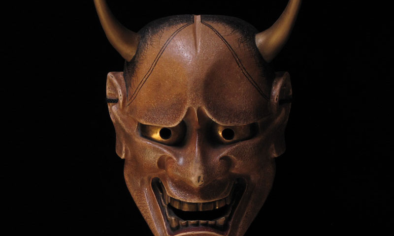 a little history of hannya mask why its so scary
